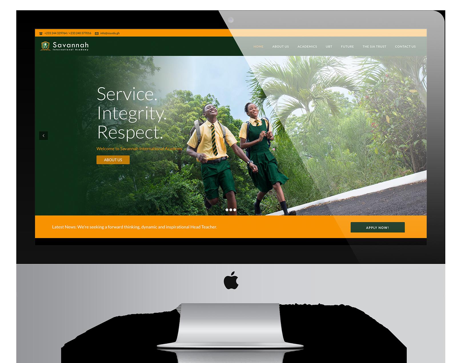 SIA-Website